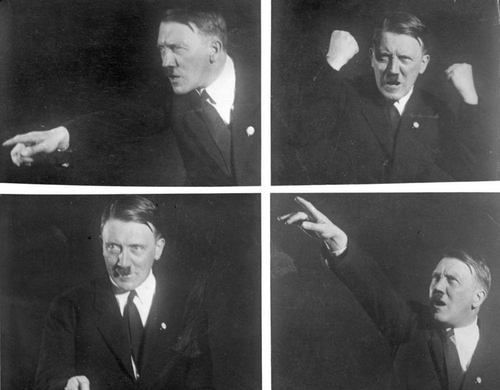 Hitler sfotografowany przez Heinricha Hoffmanna (fot. Heinrich Hoffmann / Wikipedia.org / bit.ly/1JWMBRu / CC-BY-SA)