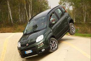 Fiat Panda 4x4, Trekking, CNG, LPG   Pierwsza jazda