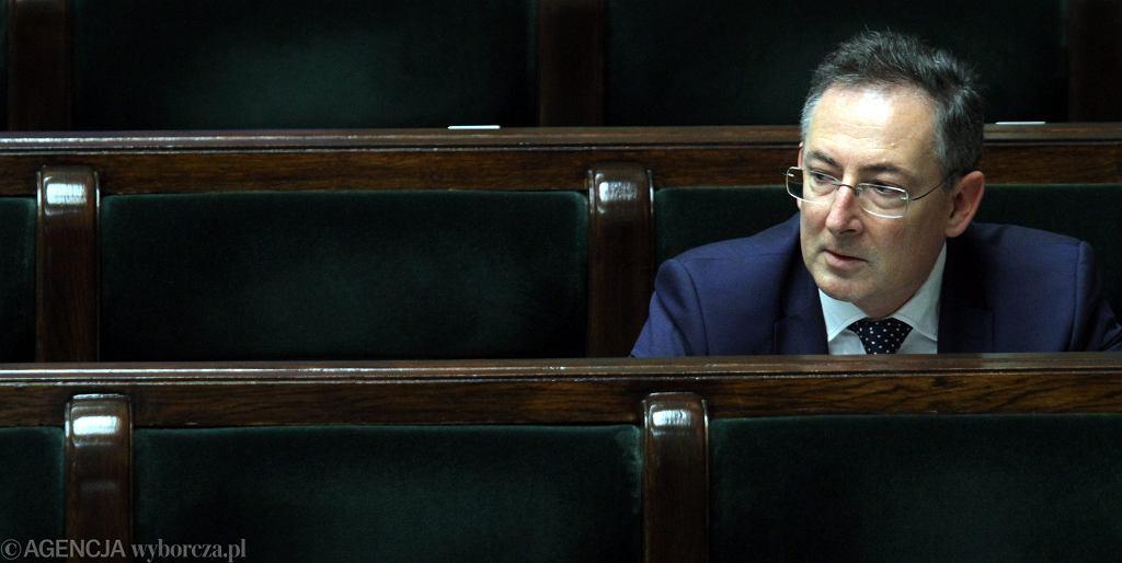 Były szef MSW Bartłomiej Sienkiewicz