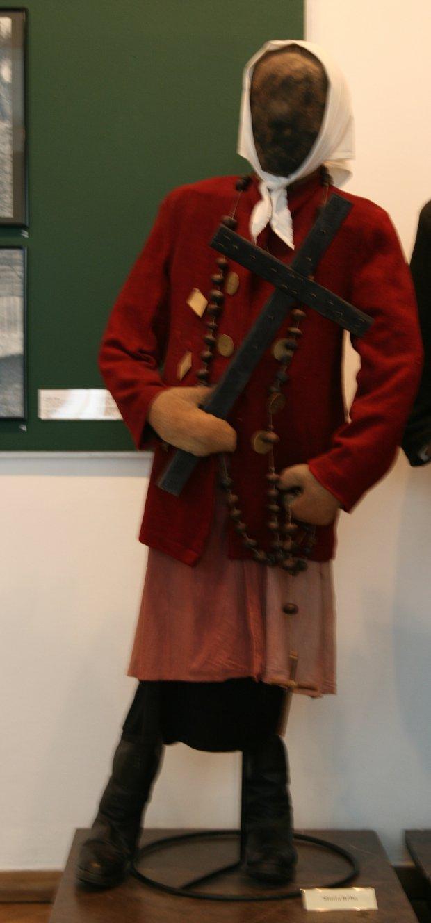 Manekin Siuda baba, Muzeum Etnograficzne w Krakowie