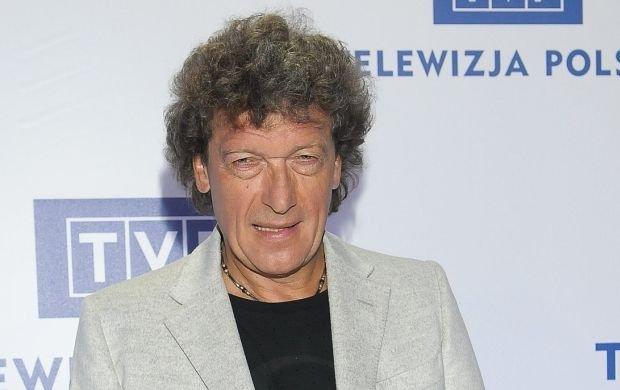 "Mówią o nim ""polski Mick Jagger""."