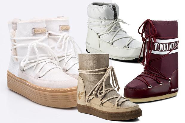 Buty Po Nartach śniegowce Dla Kobiet I Mężczyzn W Okazyjnych Cenach