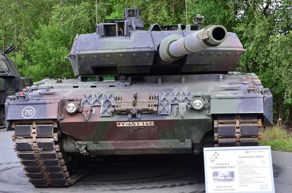 Najpotężniejsze czołgi na świecie - Leopard 2A7 (Niemcy)