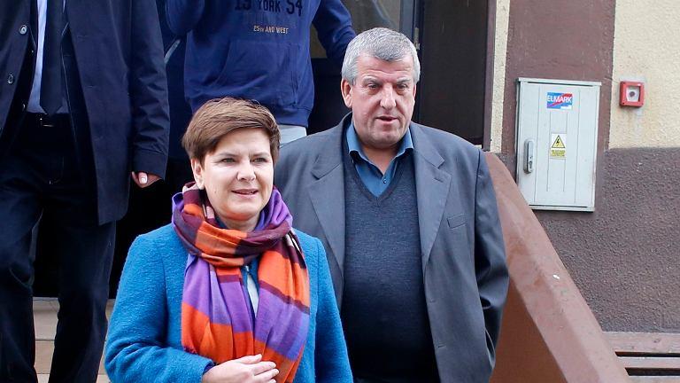 Beata Szydło, Edward Szydło