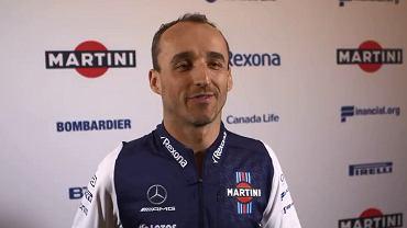 Robert Kubica oficjalnie zaprezentowany jako kierowca testowy Williamsa