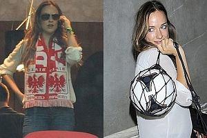 Alicja Bachleda-Curuś kibicowała Polakom na meczu. A potem poszła na...