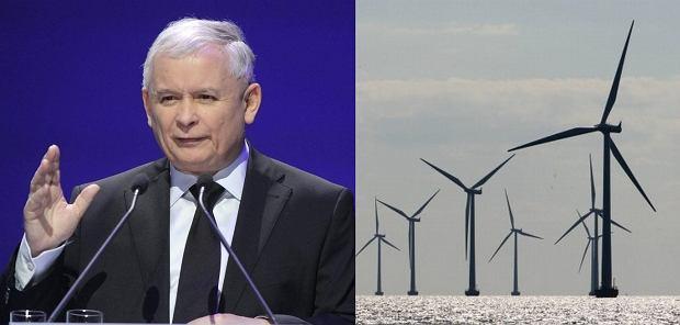 Jarosław Kaczyński/Farma wiatrowa