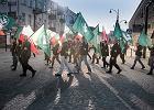 """Pokaz siły narodowców w Białymstoku. Msza z flagami ONR-u i marsz. """"Tylko Polska narodowa!"""""""