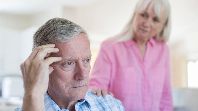 Demencja spowodowana jest uszkodzeniem mózgu