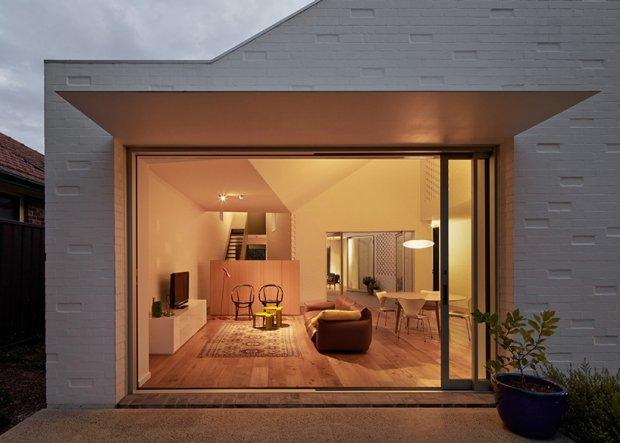 Dom czteroosobowej rodziny w Sydney.