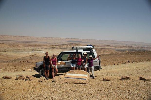 Jeep tour na pustyni Negew w Izraelu