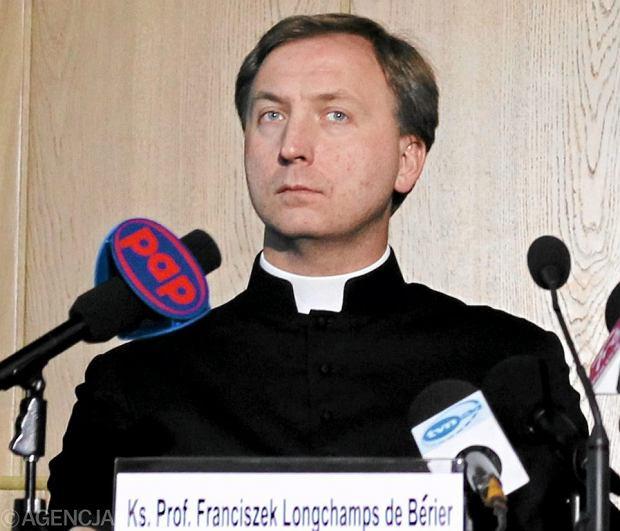 Ks. prof. F. Longchamp de Berier