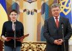 """Nadija Sawczenko wolna. """"Jestem gotowa walczy� o Ukrain� do ko�ca"""""""