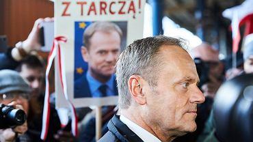 Donald Tusk, były premier Polski, szef Rady Europejskiej