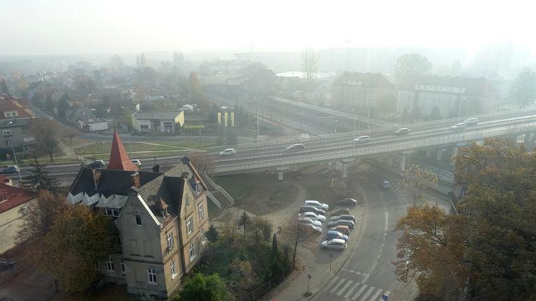 Smog nad miastem