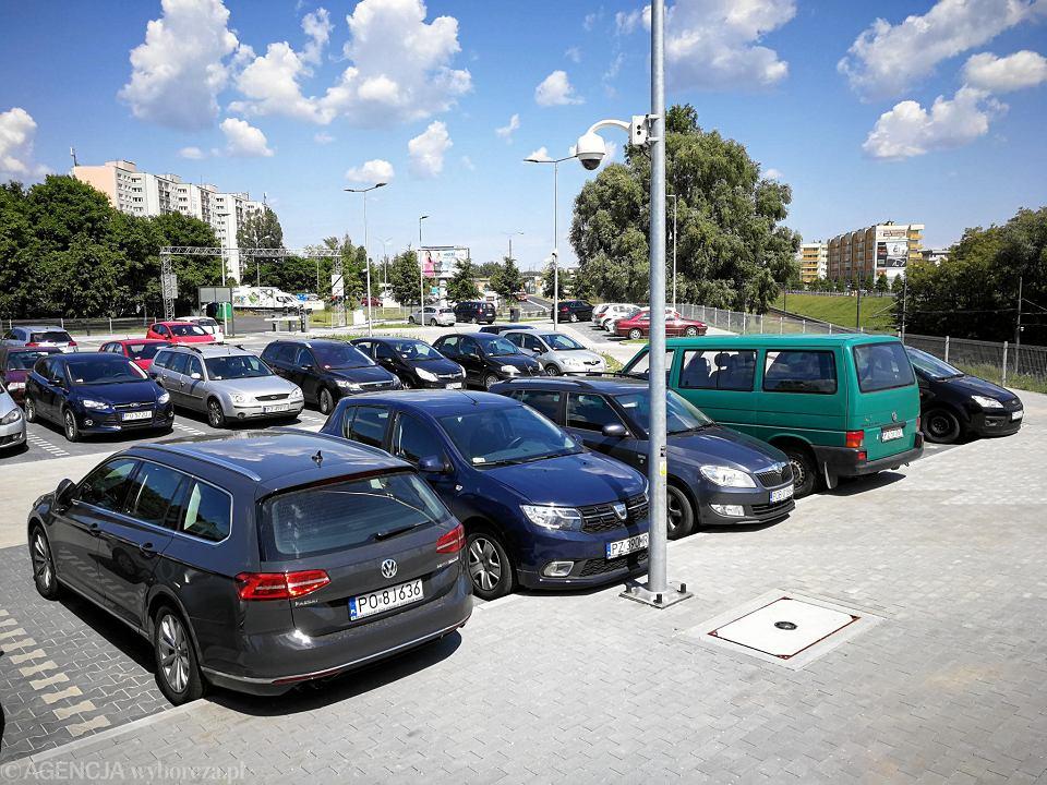 Park&ride przy PST Szymanowskiego
