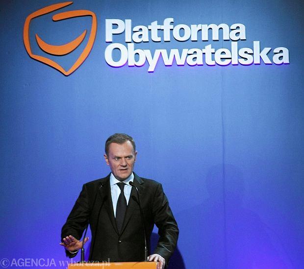 Donald Tusk, Rada Krajowa PO, 2011