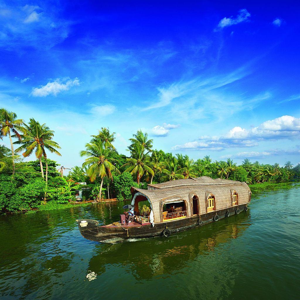 Indie - Kerala - backwaters