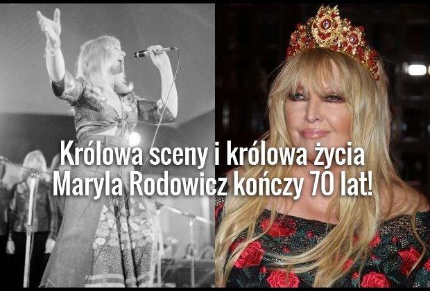 """Królowa jest tylko jedna - i bezsprzecznie jest nią Maryla Rodowicz. Wielka artystka 8 grudnia kończy 70 lat. Agnieszka Osiecka mówiła o niej """"Madonna RWPG"""". Maryla Rodowicz w czasach swojej młodości była prawdziwym zjawiskiem. Kobiety marzyły by być nią, a mężczyźni, żeby być z nią. Zobacz, z kim romansowała najsłynniejsza polska piosenkarka."""