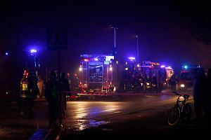 Wypadek autokaru pod Warszaw�. Zgin�y dwie osoby, wielu rannych