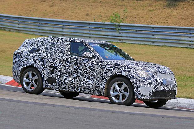 Prototypy | Range Rover Sport Coupe | Moda na SUV-y coupe nie słabnie