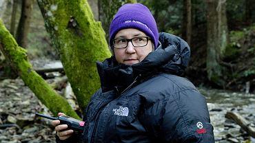 Kasia Adamik podczas kręcenia 'Watahy 2' dla HBO