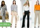 Idealne do pracy garniturowe spodnie - do 200 z�