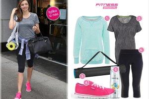Trening w stylu gwiazd: Miranda Kerr