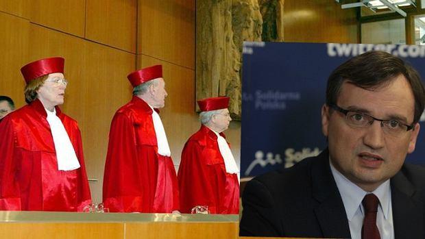 Niemiecki Federalny Trybuna� Konstytucyjny odpowiada Zbigniewowi Ziobrze