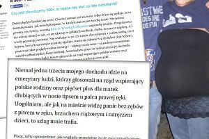 """Sylwia napisała o 500+ i """"dzieciach bezzębnych tipsiar"""". Odpisał jej naczelny """"Magazynu Porażka"""". Miażdżąco"""