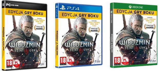 Wiedźmin 3: Dziki Gon - Edycja Gry Roku dostępna na PC, PS4 i Xbox One