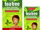 Beauty Formulas: oczyszczające paski na nos TEA TREE