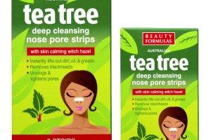 Beauty Formulas: oczyszczaj�ce paski na nos TEA TREE