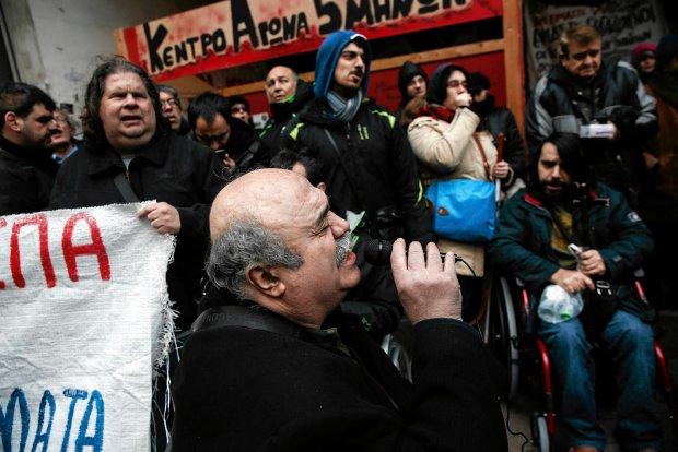 """Grecy m�wi� stanowcze """"nie"""" reformie emerytalnej. Strajk si� rozszerza"""