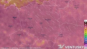 Pogoda - fala upałów. Prognoza długoterminowa