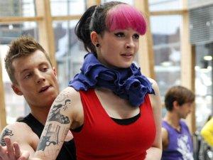 Kadr z serialu Tancerze