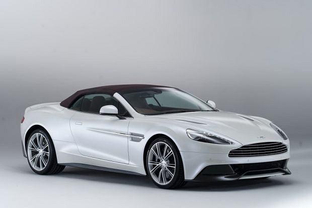 Aston Martin Vanquish Volante Convertible - galeria i wideo