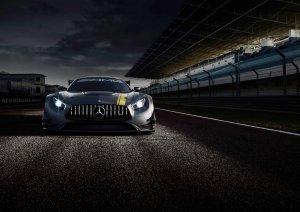 Salon Genewa 2015   Mercedes-AMG GT3   Następca wyścigowego SLS-a