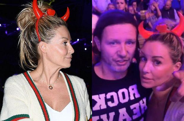"""Małgorzata Rozenek wraz z mężem przebywają na Top of the Top Sopot Festival, który organizuje TVN. Niestety, ale """"Perfekcyjna"""" pomyliła nazwę z imprezą Polsatu."""