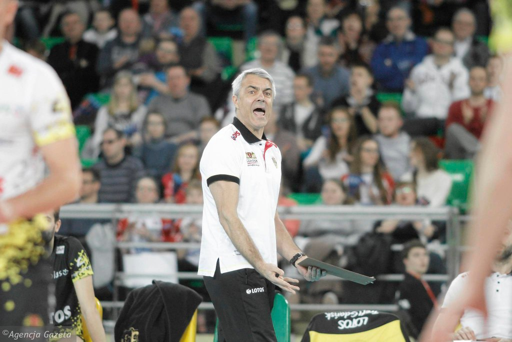 Transfer Bydgoszcz - Lotos Trefl Gdańsk 1:3. Andrea Anastasi