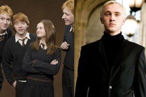 Weasleyowie i Draco Malfoy