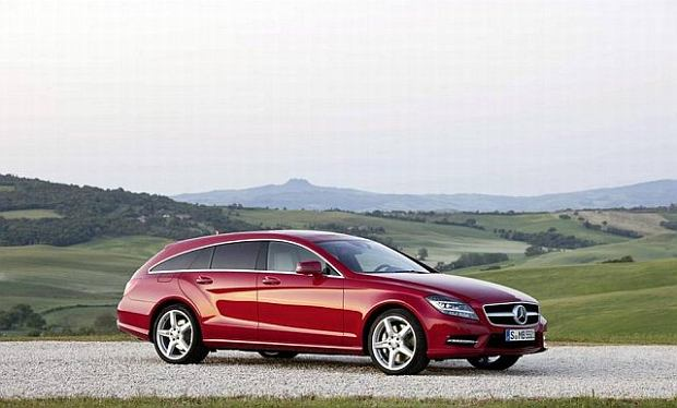 Mercedes-Benz CLS Shooting Brake - kombi w stylu glamour