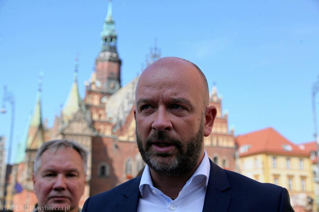 Wybory samorządowe 2018 we Wrocławiu. Jacek Sutryk kandydatem na prezydenta Wrocławia, popieranym przez Koalicję Obywatelską