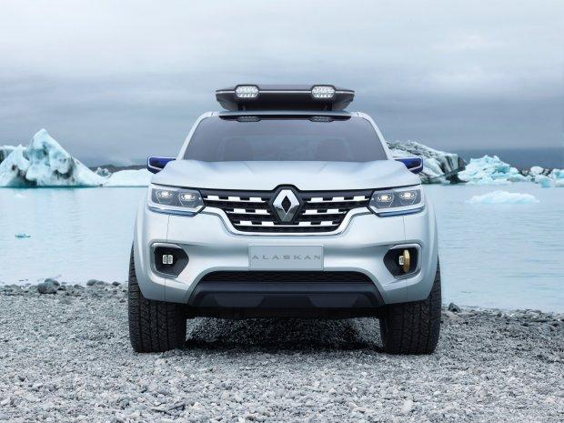 Salon Frankfurt 2015 | Renault Alaskan Concept | Zapowied� pickupa