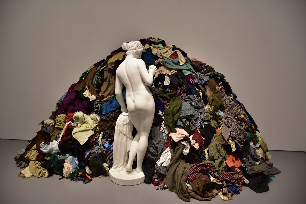 Rzeźba 'Venus of the Rags' Michelangelo Pistoletto