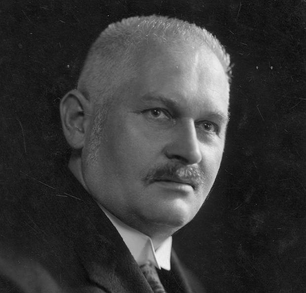Cyryl Ratajski na fotografii z 1928 r