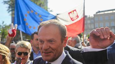 Donald Tusk w Krakowie