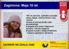 Zagin�a 10-latka w Zachodniopomorskiem. Nie wr�ci�a wczoraj ze szko�y