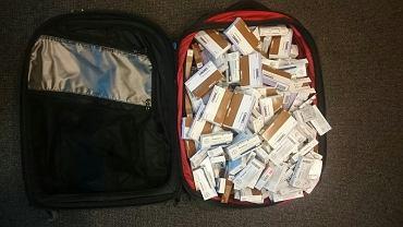 Próbowała przemycić z Turcji walizkę leków. Polka tłumaczyła, że to prezent dla jej synków