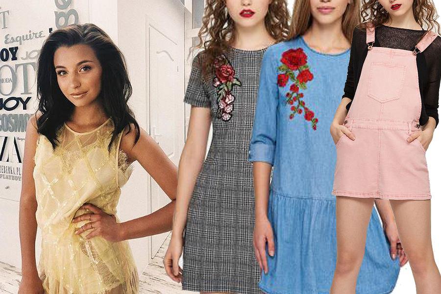 Kolaż, sukienki sinsay/Materiały partnera